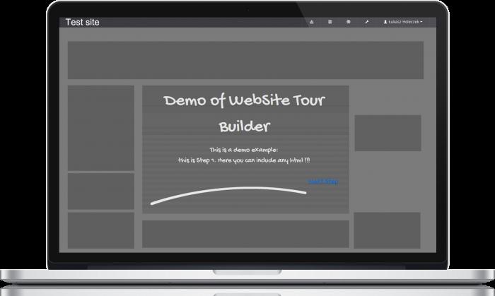 Web Site Tour Builder